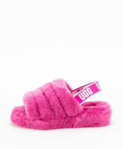 UGG Woman Slippers 1095119 FLUFF YEAH SLIDE, Fuchsia