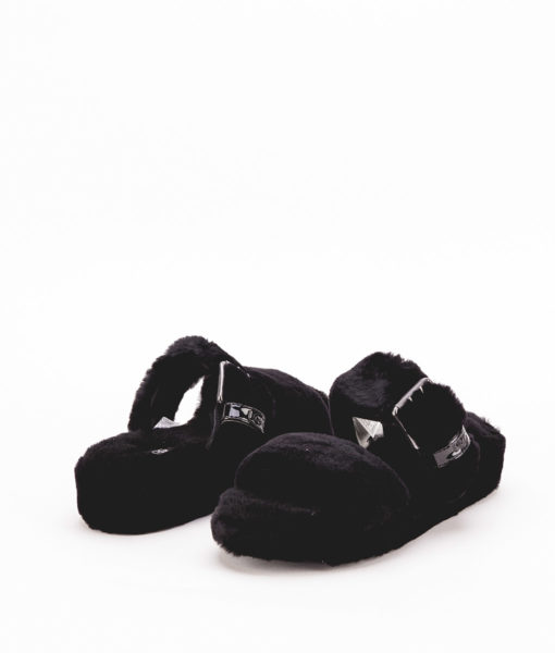 UGG Woman Slippers 1104662 FUZZ YEAH, Black 1