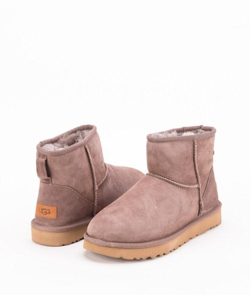 UGG Women Ankle Boots 1016222 CLASSIC MINI II, Mole 1