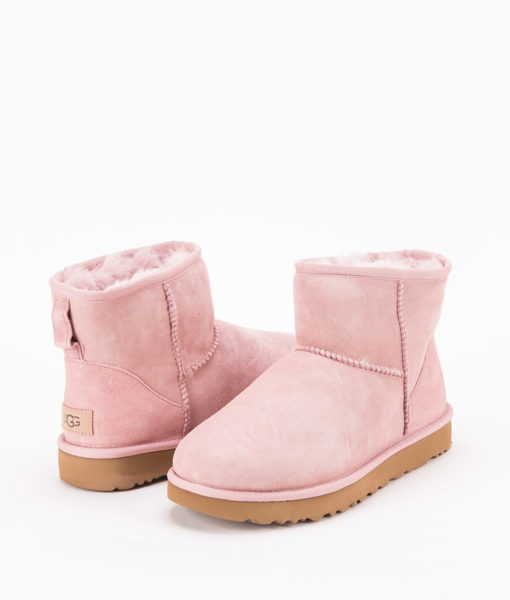 UGG Women Ankle Boots 1016222 CLASSIC MINI II, Pink Crystal 1