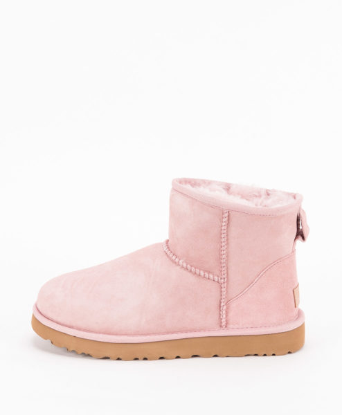 UGG Women Ankle Boots 1016222 CLASSIC MINI II, Pink Crystal