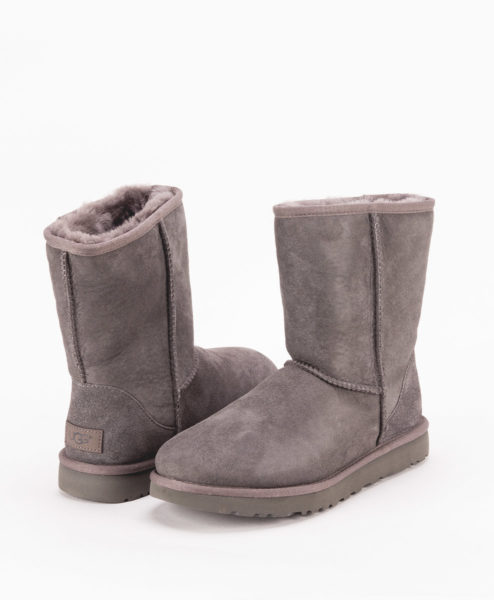 UGG Women Ankle Boots 1016223, CLASSIC SHORT II, Grey 1