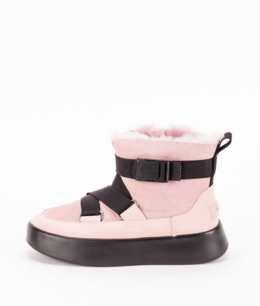 UGG Women Ankle Boots 1104616 CLASSIC BOOM BUCKLE MINI, Pink Crystal