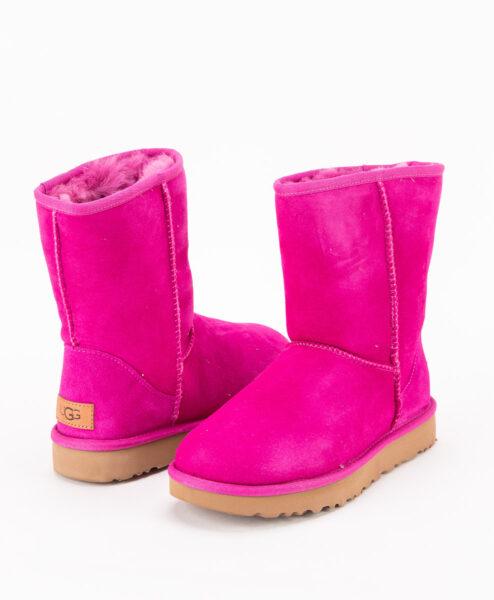 UGG Women Ankle Boots 1016223 CLASSIC SHORT II, Fuchsia 1