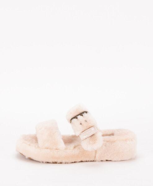 UGG Women Slippers 1104662 FUZZ YEAH, Natural